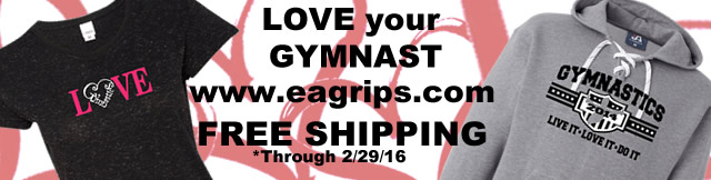 Gymnast Apparel - Love EAG | www.eagrips.com